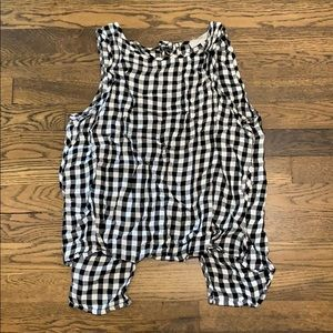 1. State Gingham Tank Top